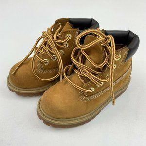 Timberland Waterproof Wheat Brown Boots Toddler 8
